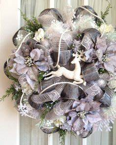 1000 images about Deco Mesh Christmas Wreaths on