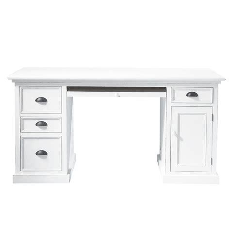 bureau bois et blanc bureau bois blanc mzaol com