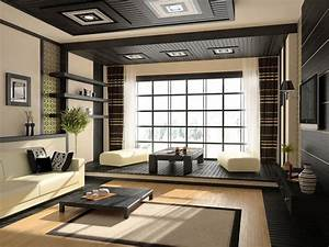 Contemporary decor with asian accents
