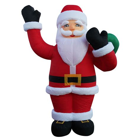 giant christmas santa claus inflatable outdoor