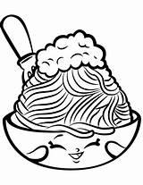 Spaghetti Coloring Shopkin Shopkins Netti Pasta Season Colouring Printable Meatballs Cartoon Sheets Lovely Supercoloring Characters Drawing Pizza Chelsea Template Charm sketch template