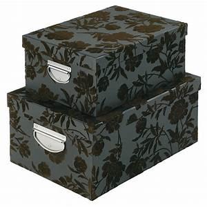 Boite Archive Deco : f te des m res nos cadeaux d co pour une maman glam 39 chic boites de rangement conforama ~ Teatrodelosmanantiales.com Idées de Décoration
