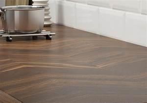 Protege Plan De Travail : un plan de travail effet chevron pour une cuisine l ~ Premium-room.com Idées de Décoration