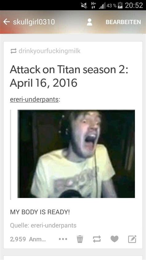 Attack On Titan Season 2 Memes - 25 best ideas about snk season 2 on pinterest attack on titan 2 aot titans and attack on titan