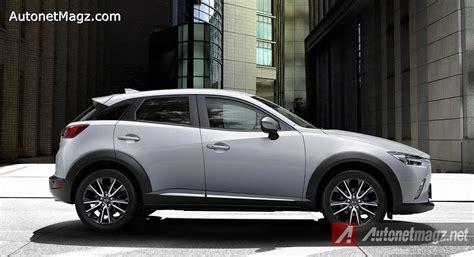 Gambar Mobil Gambar Mobilmazda Cx3 by Mazda Cx 3 Side White Autonetmagz Review Mobil Dan