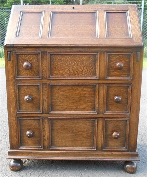 oak writing bureau uk oak jacobean style writing bureau sold