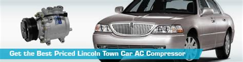 automotive air conditioning repair 2003 lincoln ls auto manual lincoln town car ac compressor air conditioning replacement uac gpd denso four seasons