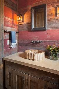 barn wood cabinets Kitchen Rustic with cabinets exposed