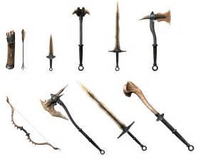 Skyrim Dragon Bone Sword Weapons