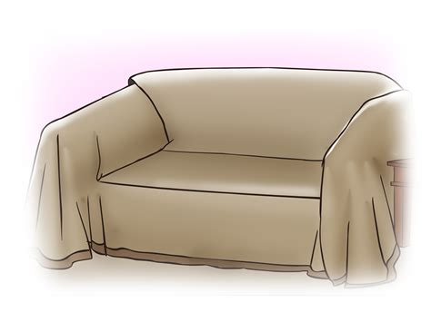how to make slipcovers for sofa how to make a sofa slipcover with pictures wikihow
