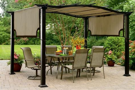 Replacement Canopy For Essential Garden Curved Pergola