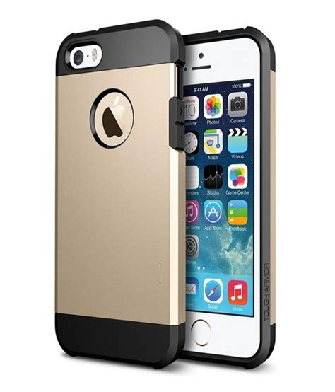 g mos slim armor back cover for apple iphone 4g gold