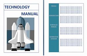 Services manuals free manual templates for O and m manual template