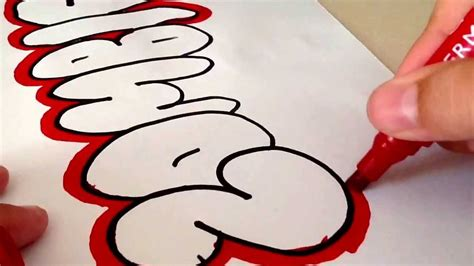 Very Cool And Easy Graffiti 2013 Youtube