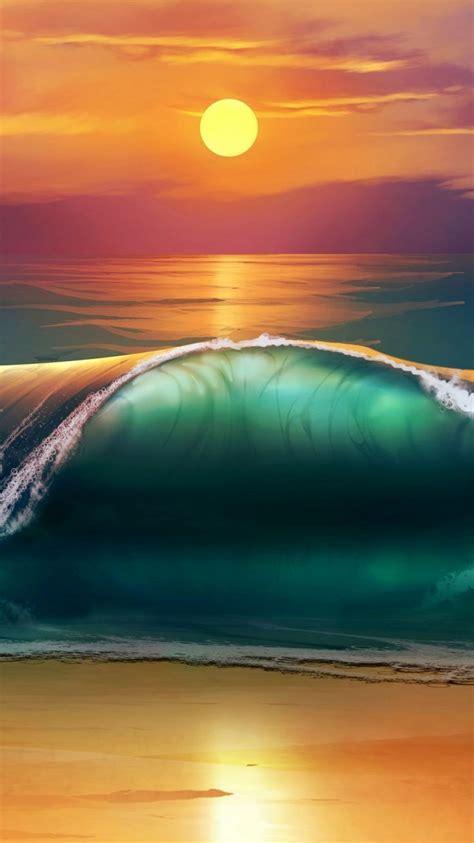 750x1334 beautiful sea iphone 6 wallpaper 750x1334 sunset sea waves