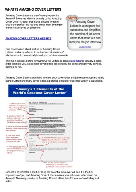 Jimmy Sweeney Resume by Amazing Cover Letters Jimmy Sweeney Http Wpdia Info 2acl