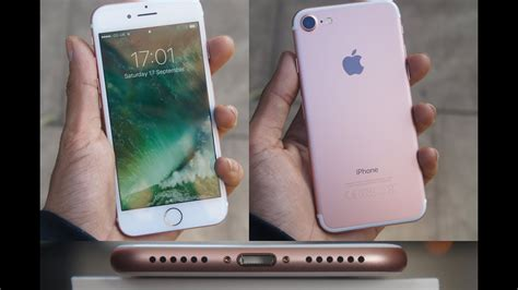 iphone unboxing rose gold gb youtube