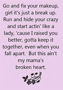 Broken Heart Qu... Heart Lyrics Quotes