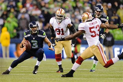 ers steamrolled  seahawks