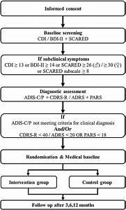 Flow Chart Effectiveness Of Disease Specific Cognitive Behavioural