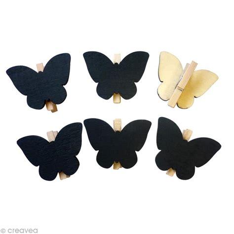 papillon pince a linge pince 224 linge ardoise papillon x 6 pinces 224 linge ardoise creavea