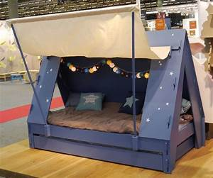Kids Tent Cabin Canopy Bed » Gadget Flow