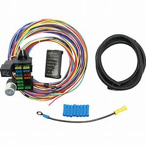 New 12 Circuit Wire Harness Muscle Car Hot Rod Street Rod