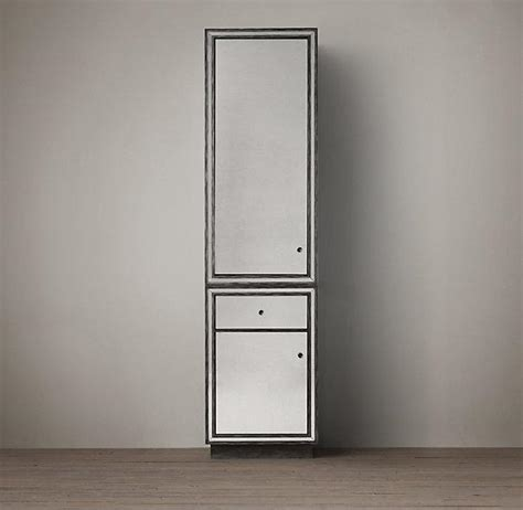 strand mirrored cabinet 84 quot i restoration hardware