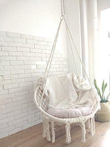 boho style macrame hanging chair hammock town