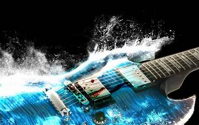 Electric Guitar Wallpapers Cool Definition Water Nature