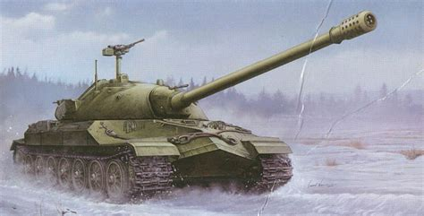 Trumpeter 1/35 Scale Kit No. 5586; Soviet Js-7 Heavy Tank