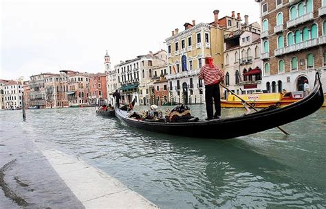 Wakeboarding In Flooded Venice Telegraph