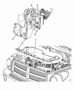 2005 Dodge Durango Engine Diagram : 55362295ac genuine mopar housing radiator ~ A.2002-acura-tl-radio.info Haus und Dekorationen