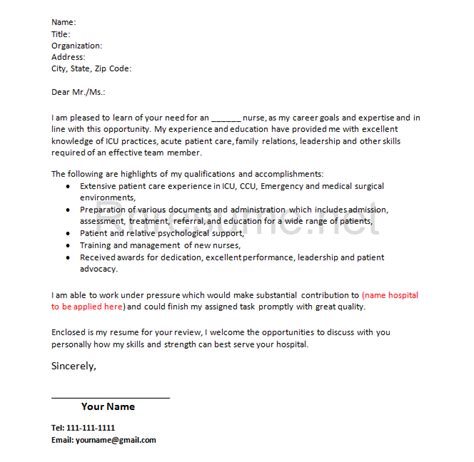 cover letter exle what should a cover letter format