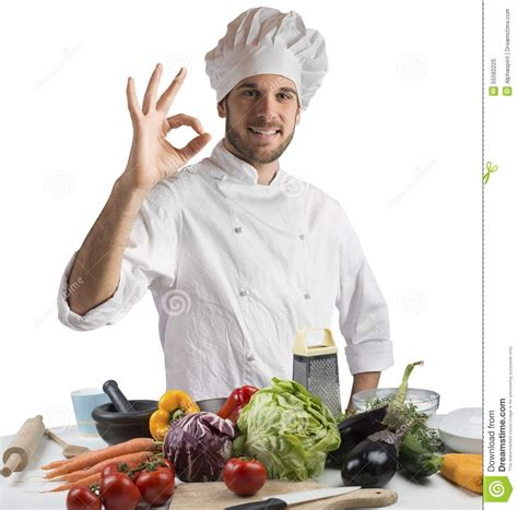 chef cuisine pic cuisine of expert chef stock photo image 55582225