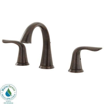 delta lahara faucet chagne bronze delta lahara 8 in widespread 2 handle high arc bathroom
