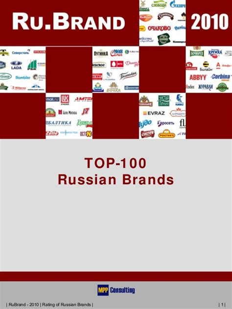 Top100 Russian Brands (english Version