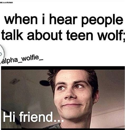 Teen Wolf Meme - teen wolf lol random pinterest friends forever the two and wolves