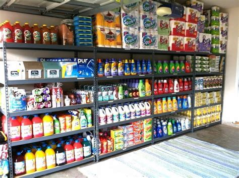 Garage Organization How I Organize My Coupon Stockpile