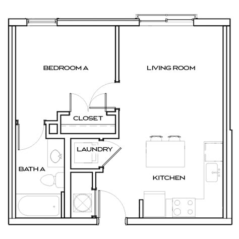 Apartment Floor Plans At The Standard At Knoxville