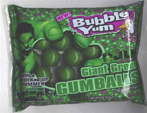 The Incredible Hulk Giant Green Gumballs