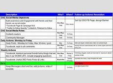 Letter Template Social Media Marketing Plan Template