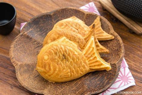 japanese fish cake taiyaki 鯛焼き just one cookbook