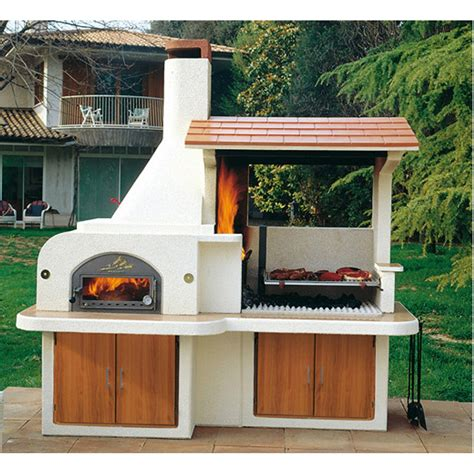 barbecue da giardino prezzi forno barbecue antille miccich 232 architetture da giardino