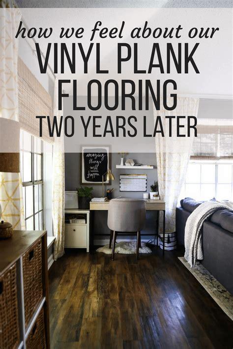 waterproof vinyl plank flooring vinyl plank flooring review 2 years later