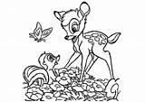 Bambi Horses sketch template