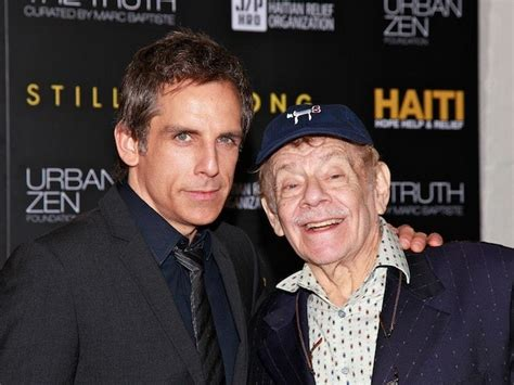 seinfeld star jerry stiller ben stillers father