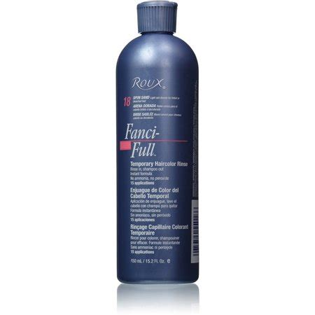 fanciful hair color roux fanci rinse temporary hair color spun sand 15