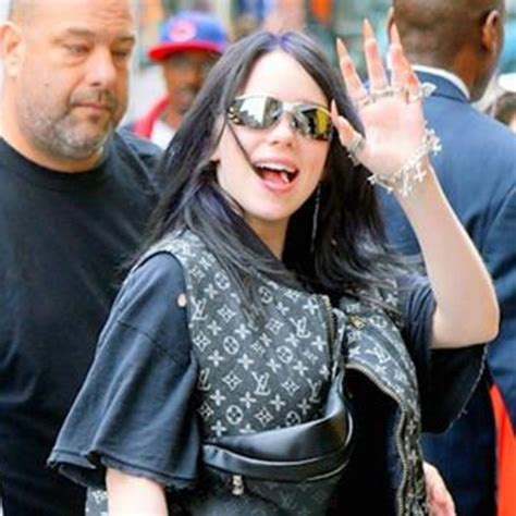 Billie Eilish Decked Out in Louis Vuitton - What the ...