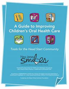 A Guide to Improving Children's Oral Health Care: Tools ...